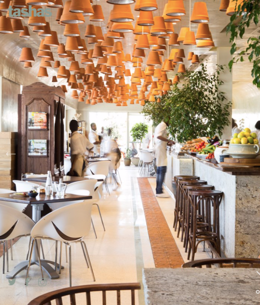 The Spain inspired V&A Tashas|image: Tashas